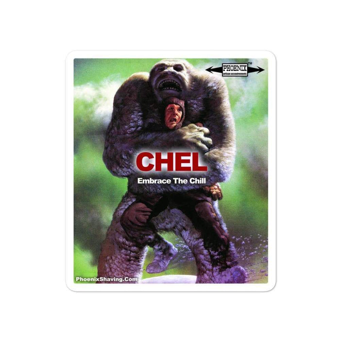 CHEL Hug Vinyl Stickers | Available in 3 Sizes! - Phoenix Artisan Accoutrements