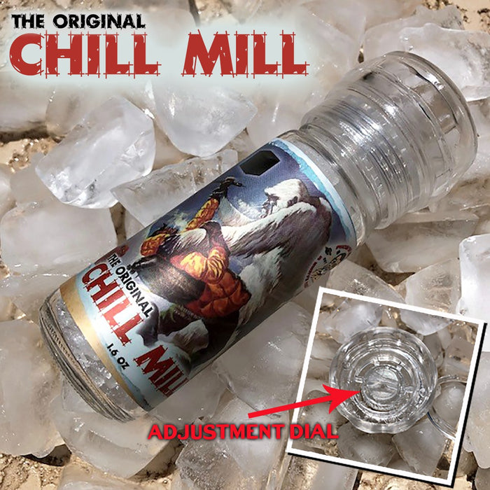 The Chill Mill - Adjustable Menthol Grinder | Control How Cold Your Next Shave Is! - Phoenix Artisan Accoutrements
