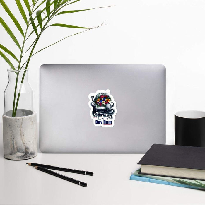 Clásico Bay Rum Vinyl Sticker | 3 Sizes - Phoenix Artisan Accoutrements