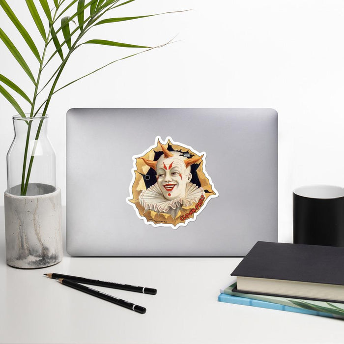 Clown Fruit Vinyl Bubble-Free Stickers | Available in 3 Sizes - Phoenix Artisan Accoutrements