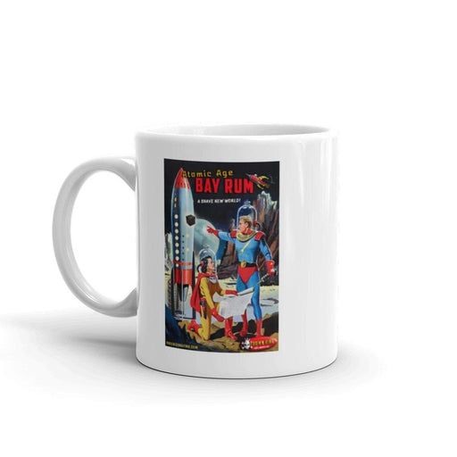 Atomic Age Bay Rum Coffee Mug - Phoenix Artisan Accoutrements