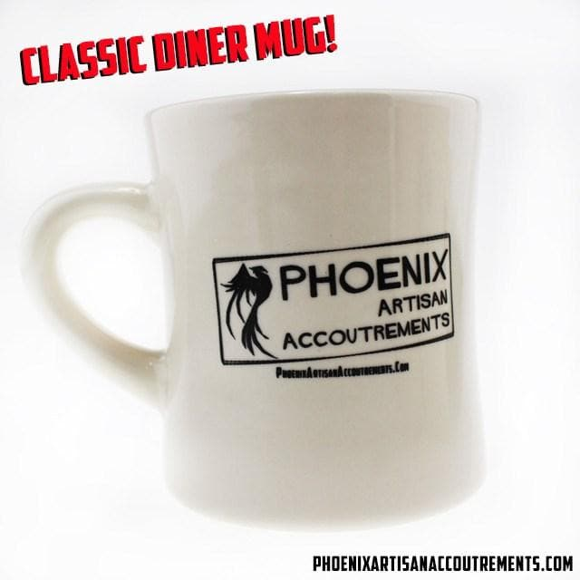 Classic Phoenix Artisan Accoutrements Diner Mug - 8.5 Oz