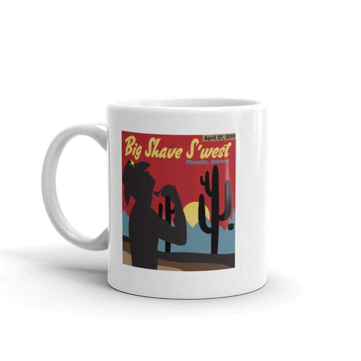 The Official Big Shave S'west 2019 Artwork Coffee Mug - Phoenix Artisan Accoutrements