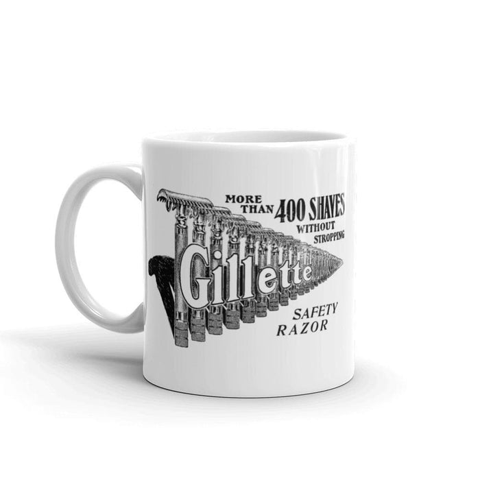 Vintage Safety Razor Ad Coffee Mug - Phoenix Artisan Accoutrements