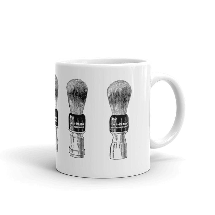 Vintage Shaving Brush Coffee Mug - Phoenix Artisan Accoutrements