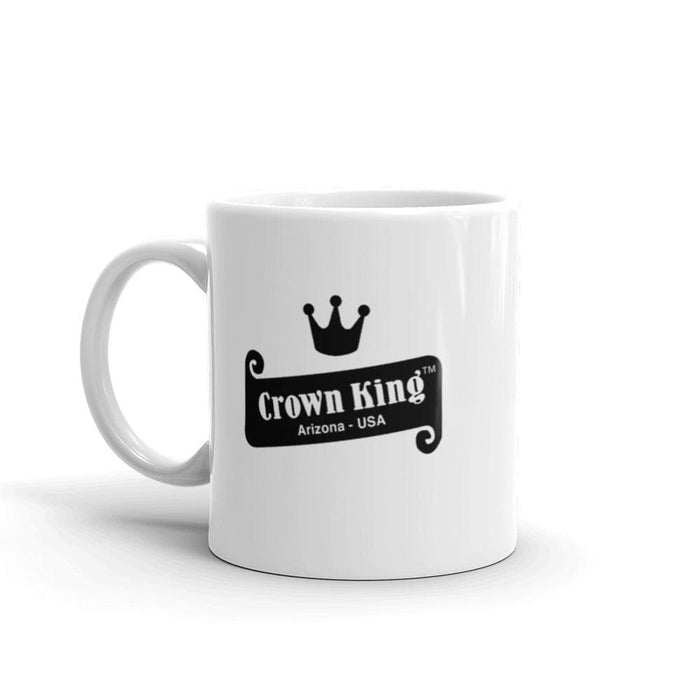 Crown King Coffee Mug | Available in 2 Sizes! - Phoenix Artisan Accoutrements