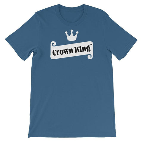 Crown King Unisex Short Sleeve T-shirt