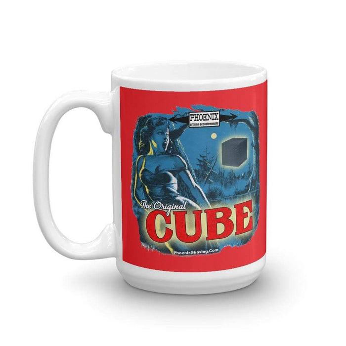 CUBE Coffee Mug | Available in 2 Sizes! - Phoenix Artisan Accoutrements