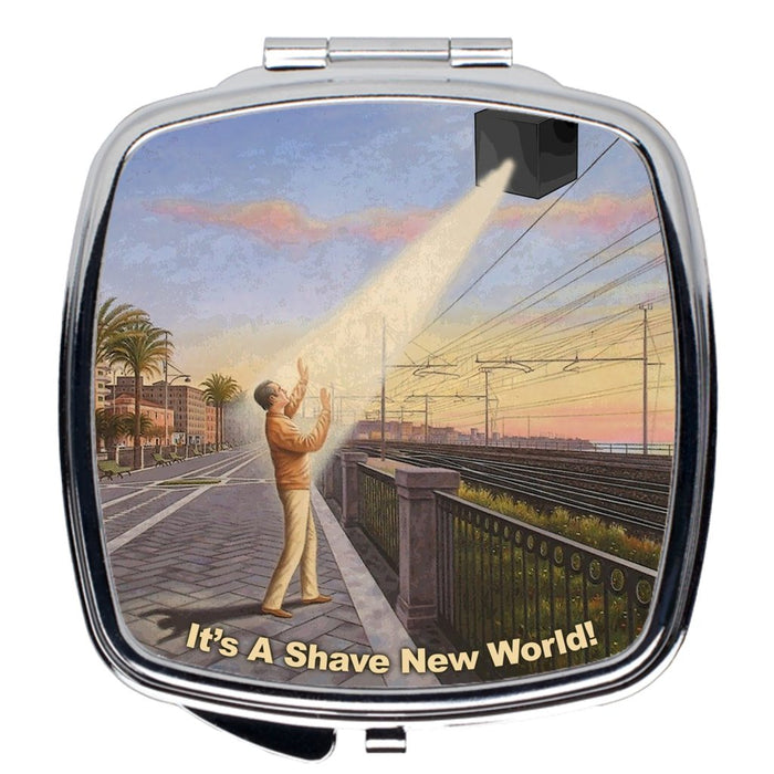 CUBED Compact Travel Mirror - Phoenix Artisan Accoutrements