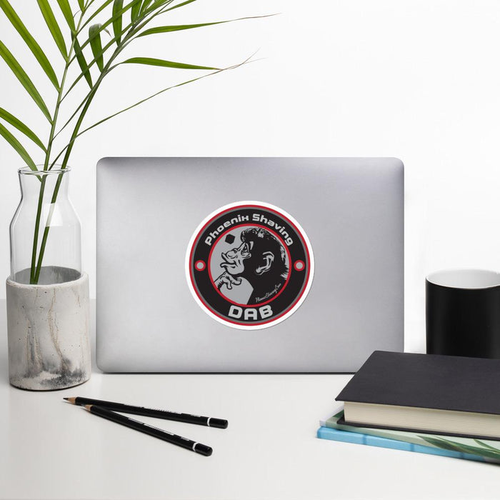 DAB Vinyl Bubble-Free Stickers | Available in 3 Sizes! - Phoenix Artisan Accoutrements