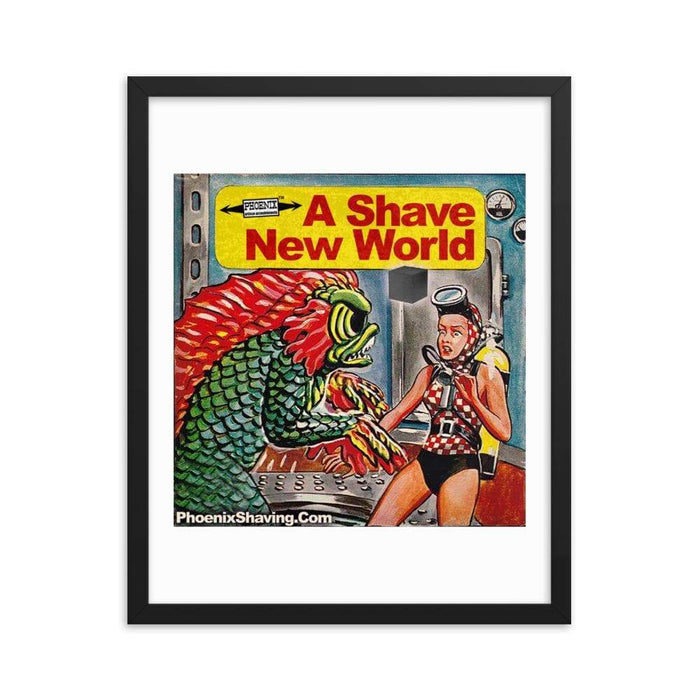 Dagon Framed Print - Phoenix Artisan Accoutrements