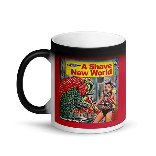 Dagon Matte Black Magic Coffee Mug - Phoenix Artisan Accoutrements