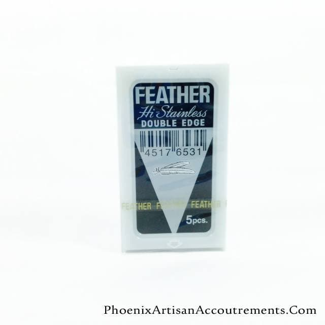 10 Feather New Hi-Stainless DE Blade, 2 packs of 5 - Phoenix Artisan Accoutrements