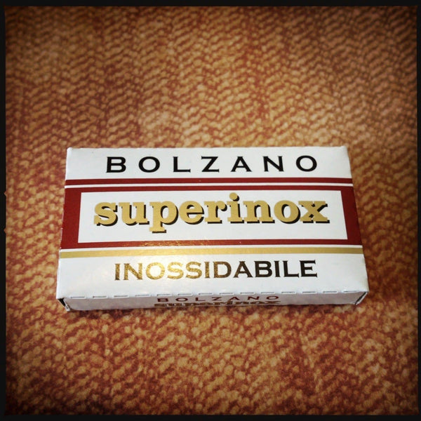 Bolzano Superinox Double Edge Razor Blades, 5 pack - Phoenix Artisan Accoutrements