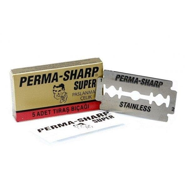 Perma-Sharp Super Stainless Blades - 5 PCS