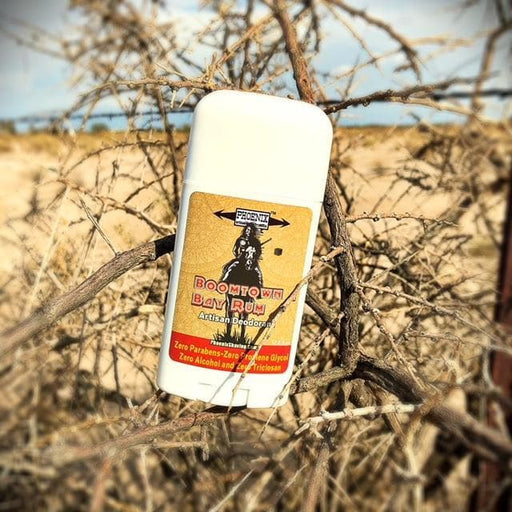 Boomtown Bay Rum Natural Deodorant | Sport Strength - Phoenix Artisan Accoutrements