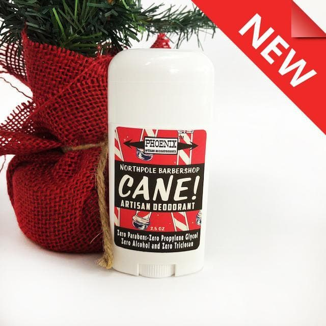 CANE Natural Deodorant - Extra Sport Strength - North Pole Barbershop! - Phoenix Artisan Accoutrements