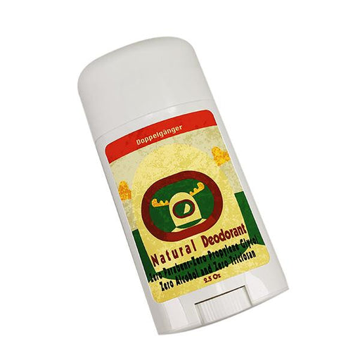 Doppelgänger Tricolor Label Natural Deodorant | Clean, Green, Spicy & Masculine! - Phoenix Artisan Accoutrements
