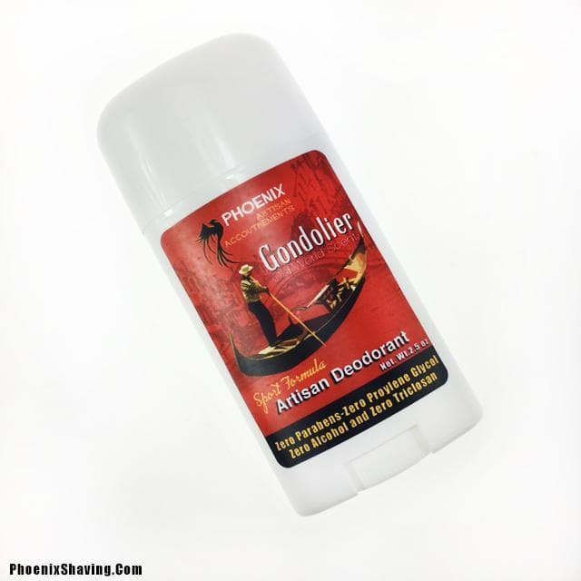 Gondolier Handmade Natural Deodorant | Sport Strength - Phoenix Artisan Accoutrements