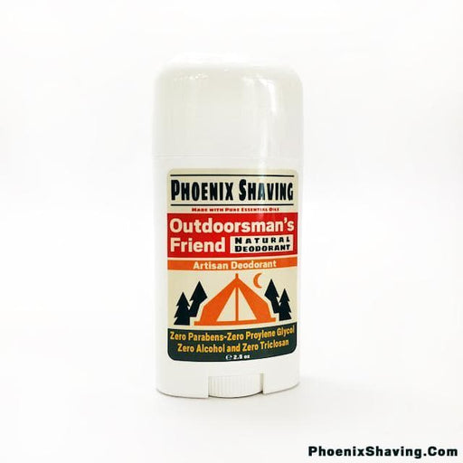 Outdoorsman's Friend Natural Deodorant - Made with Pure Essential Oils - Phoenix Artisan Accoutrements