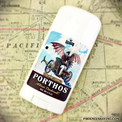 Porthos Natural Handmade Deodorant | Sport Strength | A Salute to the Classic, Aramis! - Phoenix Artisan Accoutrements