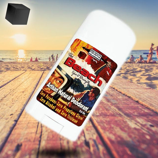 The Beach Natural Deodorant | Sport Strength - Phoenix Artisan Accoutrements