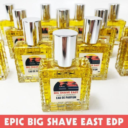 Big Shave East Eau De Parfum (EDP) - 30ml - Frangipani, Tobacco, and Apricot - Phoenix Artisan Accoutrements