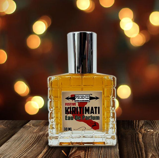 Kiritimati Eau De Parfum (EDP) | A Festive, Masculine Holiday Bay Rum | Barrel Aged 1 Year - Phoenix Artisan Accoutrements