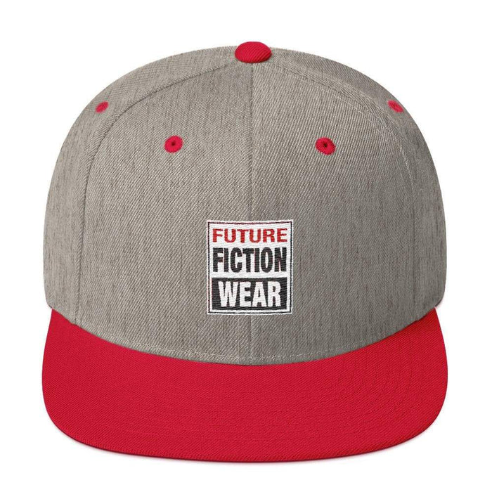 Embroidered Future Fiction Wear Snapback Hat - Phoenix Artisan Accoutrements