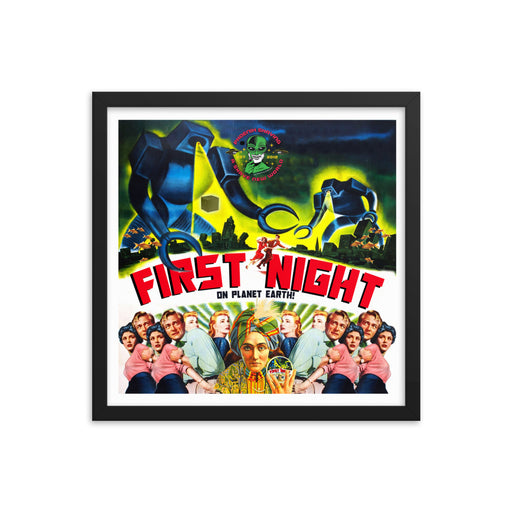 First Night (On Planet Earth) Framed Print | Available in Multiple Sizes! - Phoenix Artisan Accoutrements