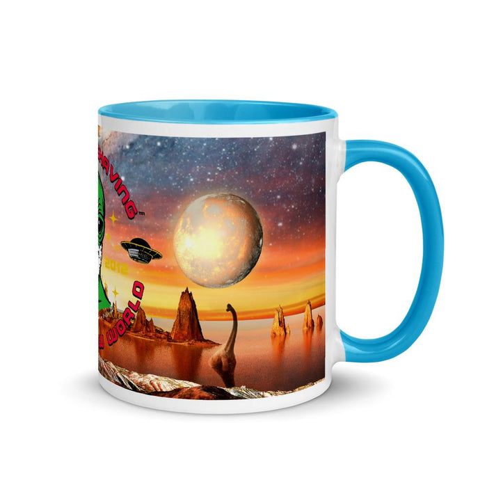 Epic Phoenix Shaving Galaxy Coffee Mug with Color Inside! - Phoenix Artisan Accoutrements