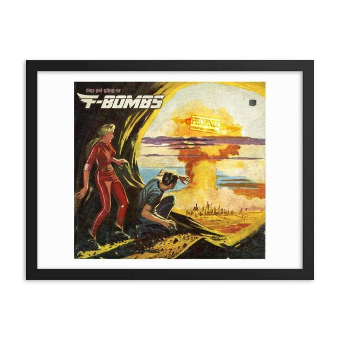 F-Bombs Framed Print | Epic Man Cave Art! - Phoenix Artisan Accoutrements