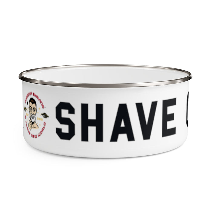 Shave Cadet Lather Shave Bowl w/ Lid! | Stainless Steel | 2 Sizes! - Phoenix Artisan Accoutrements