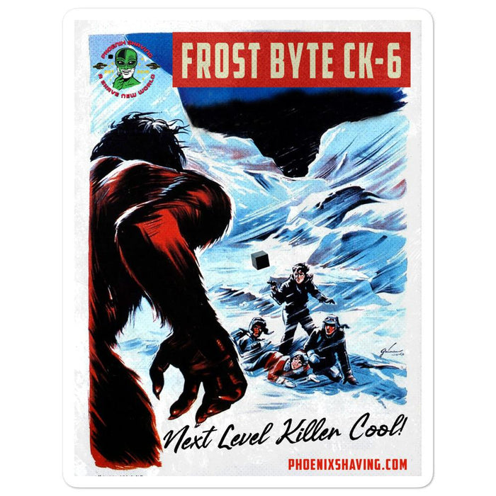 Frost Byte Killer Cool Bubble-Free Vinyl Stickers | Available in 3 Sizes - Phoenix Artisan Accoutrements