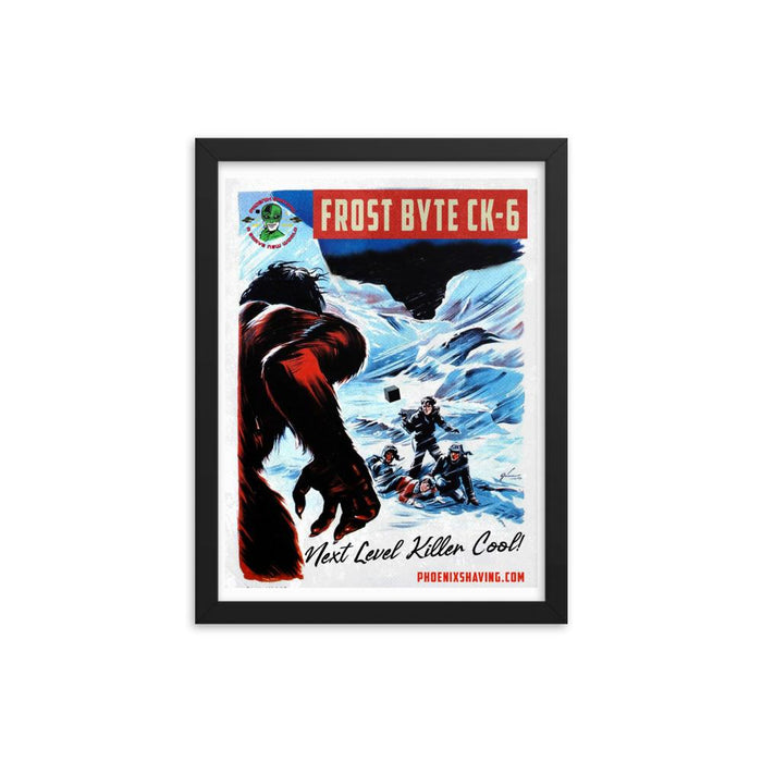 Frost Byte Killer Cool Framed Print | Available in 3 Sizes! - Phoenix Artisan Accoutrements