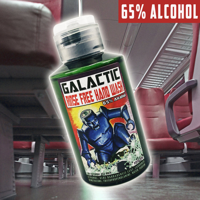 Galactic Rinse Free Hand Wash | 65% Alcohol 100 Ml | Available in 5 Classic Phoenix Shaving Scents! - Phoenix Artisan Accoutrements