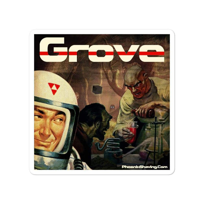 Grove Vinyl Bubble-Free Stickers | Available in 3 Sizes! - Phoenix Artisan Accoutrements