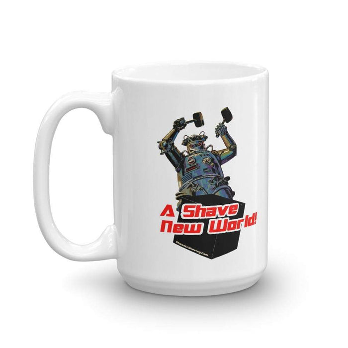 Hammering Robot Coffee Mug | Choose From 2 Sizes - Phoenix Artisan Accoutrements