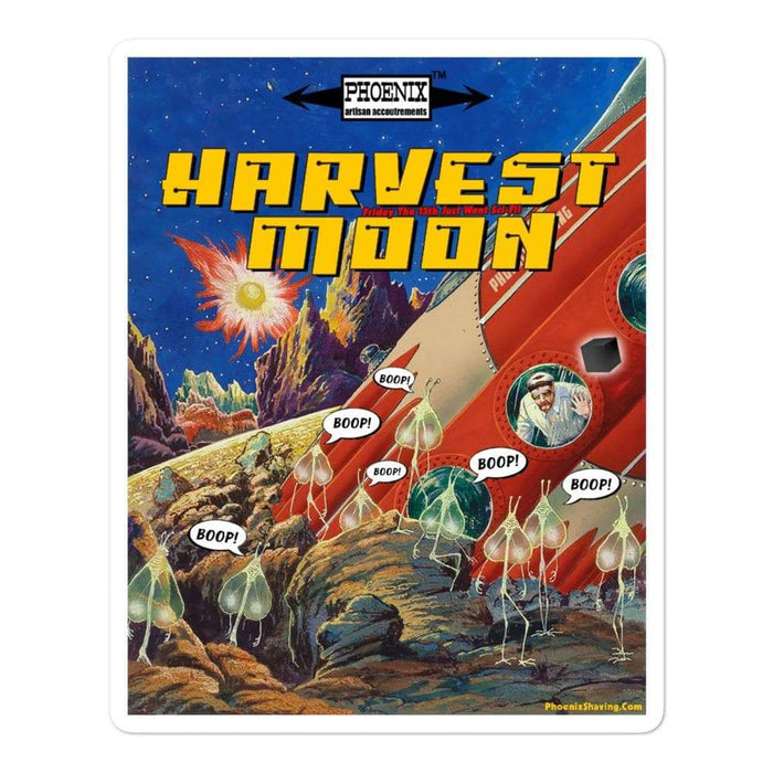 Harvest Moon 2 Vinyl Bubble-Free Stickers | Available in 3 Sizes - Phoenix Artisan Accoutrements