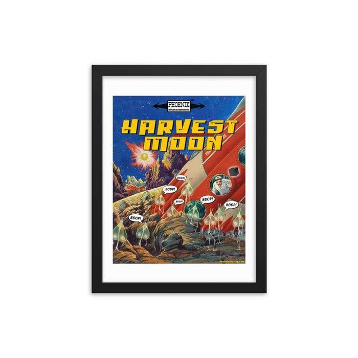 Harvest Moon Framed Print 2 - Phoenix Artisan Accoutrements