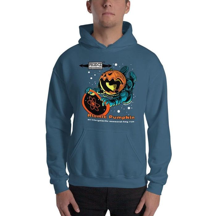 Atomic Pumpkin Hooded Sweatshirt - Phoenix Artisan Accoutrements