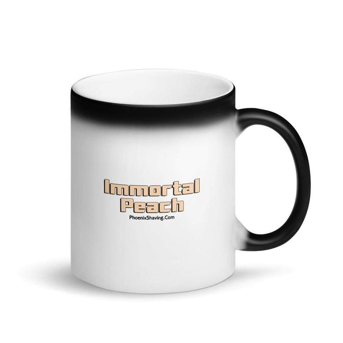 Immortal Peach Epic Black Magic Coffee Mug - Phoenix Artisan Accoutrements