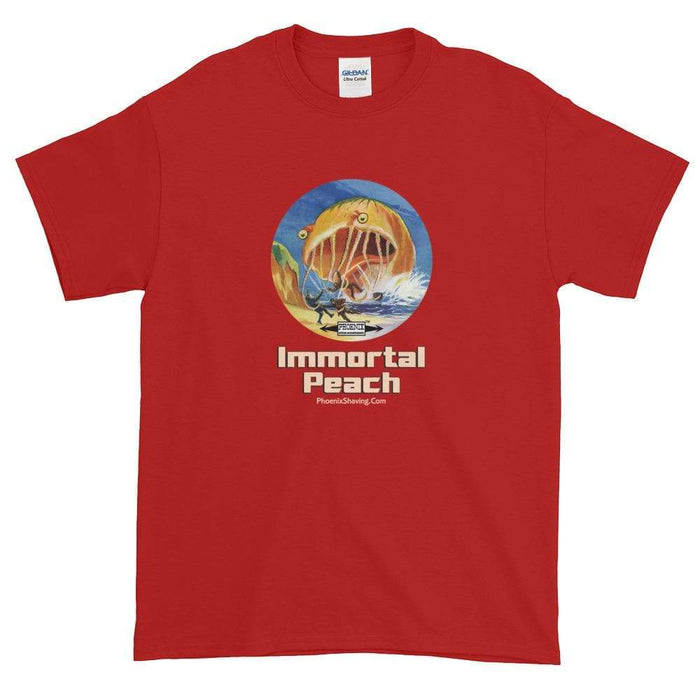 Immortal Peach Short-Sleeve T-Shirt - Phoenix Artisan Accoutrements