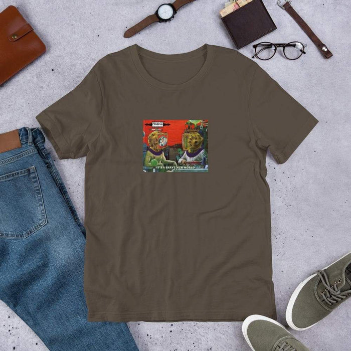 It's A Shave New World T-shirt - Phoenix Artisan Accoutrements