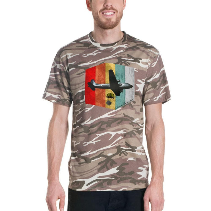 John Frum Short-sleeved camouflage t-shirt - Phoenix Artisan Accoutrements