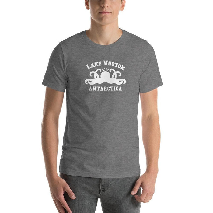 Lake Vostok Vacation Short-Sleeve Unisex T-Shirt - Front/Back Print - Phoenix Artisan Accoutrements