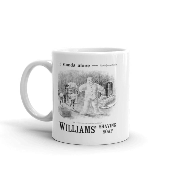 Lather Man Vintage Ad Coffee Mug | Available in 2 Sizes! - Phoenix Artisan Accoutrements