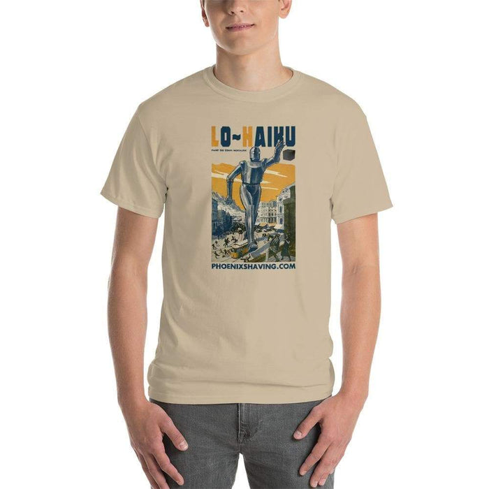 Lo~Haiku Short-Sleeve T-Shirt | Paint The Town Nostalgic - Phoenix Artisan Accoutrements