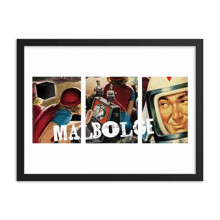 Malbolge Framed Print - Phoenix Artisan Accoutrements