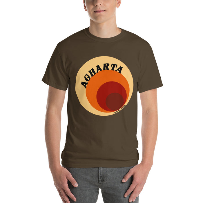 AGHARTA Tunnel Short-Sleeve Unisex T-Shirt | Heavy Weight Sturdy Cut - Phoenix Artisan Accoutrements
